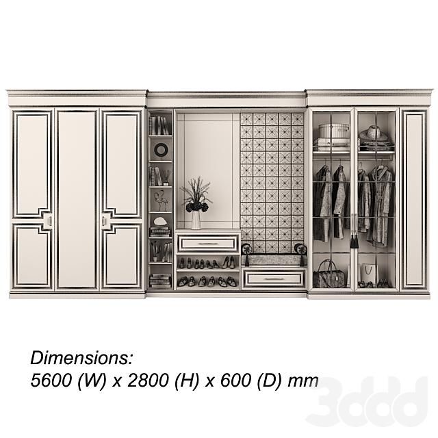 Мебельная композиция 93 часть 4