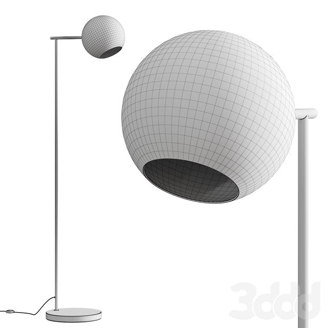 West Elm Staggered Glass Floor Lamp