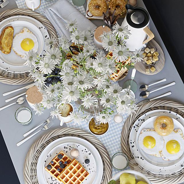 Сервировка стола 36. Завтрак - 3