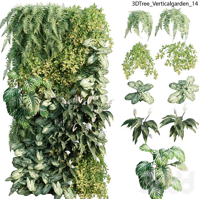 Verticalgarden - Green wall 14