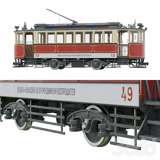 Трамвайный вагон Путиловского завода