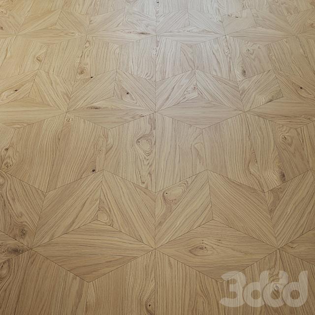 Iris knot oak floor