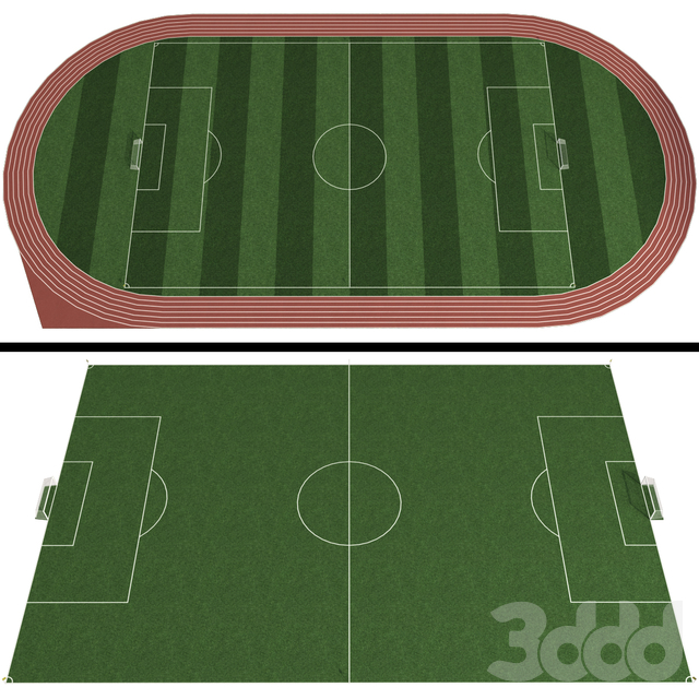 Футбольное поле / Футбольный стадион