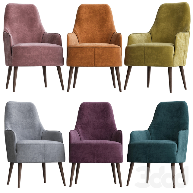 Armchairs by Ditre Italia