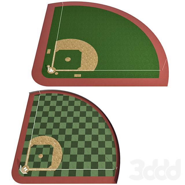 Бейсбольное поле / Бейсбольный стадион