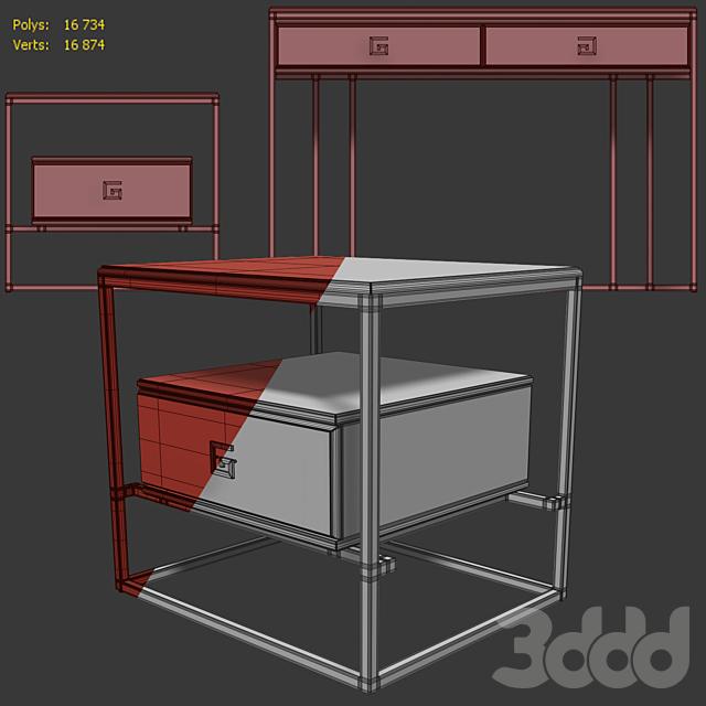Тумба и комод / консоль Bolero. Console dresser, nightstand by Neoclassica Casa