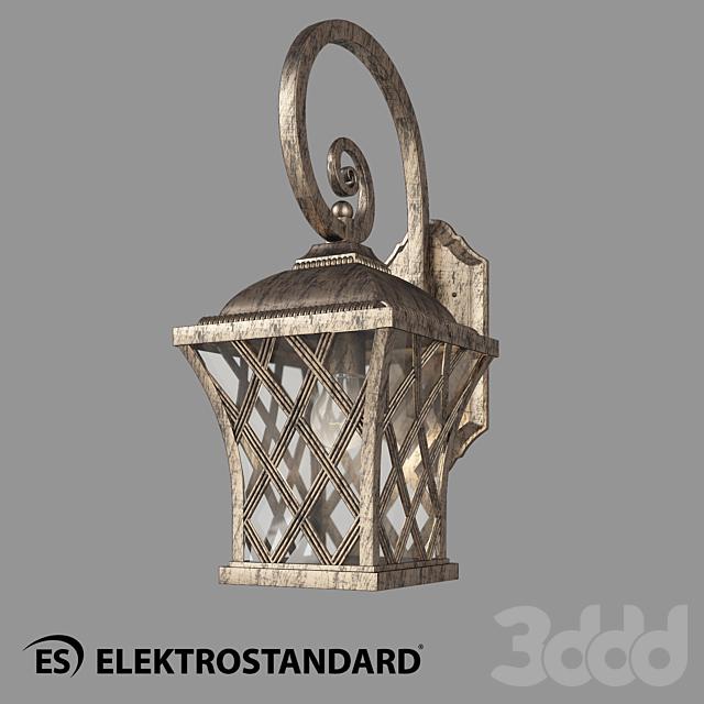 ОМ Уличный настенный светильник Elektrostandard Cassiopeya D