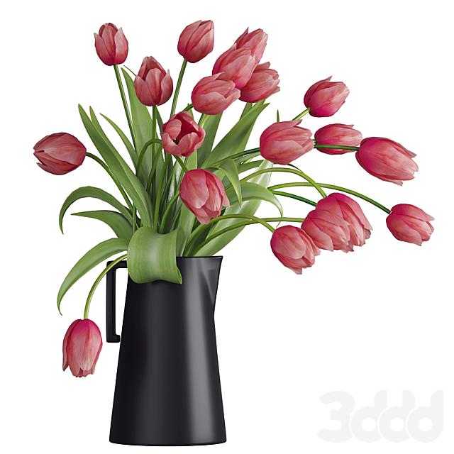 Букет цветов в вазе 38