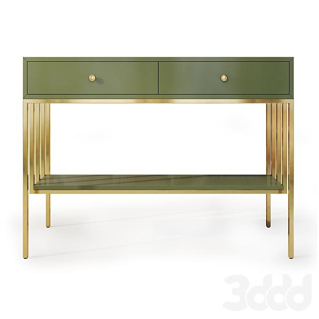 Тумба и комод / консоль Ар Деко. Console dresser, nightstand by Wooden Kors