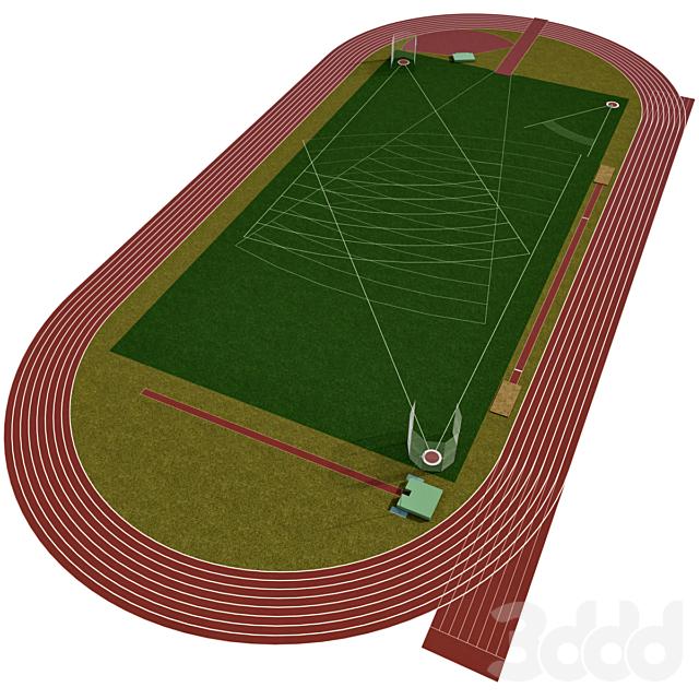 Универсальное спортивное поле /  Олимпийский стадион