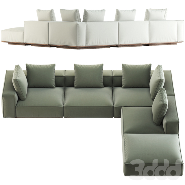 HARBOUR / SANTORINI SOFA