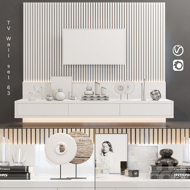 TV Wall | set 63