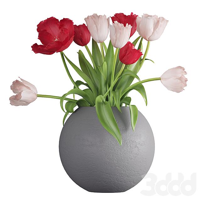 Букет цветов в вазе 39