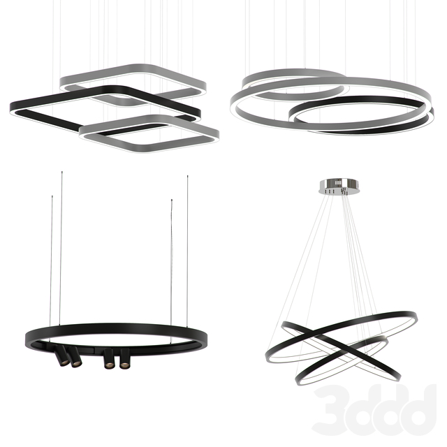 Forstlight RING CHANDELIER SET