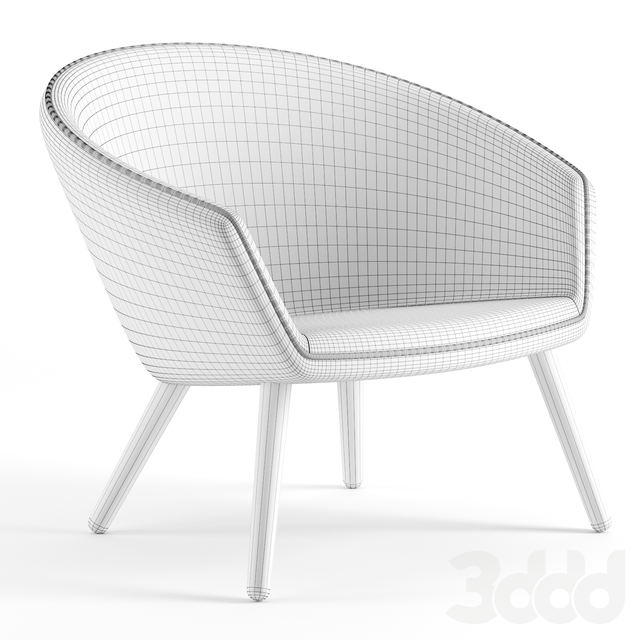 Ditzel Lounge Chair by Fredericia