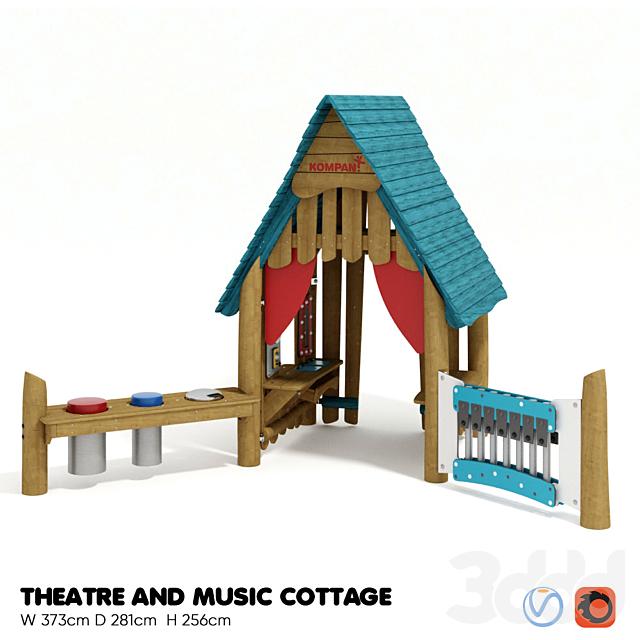 KOMPAN. THEATRE AND MUSIC COTTAGE