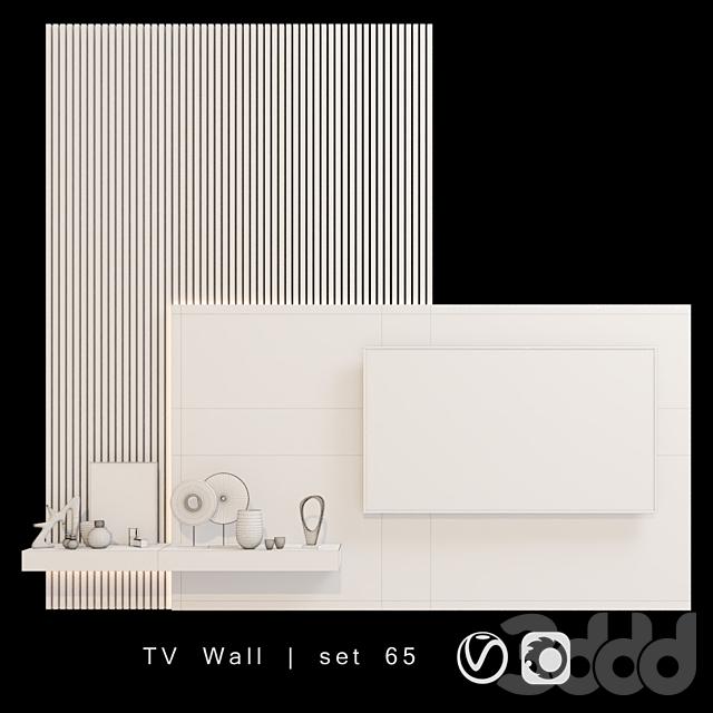 TV Wall   set 65