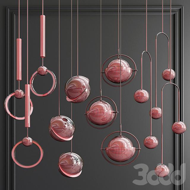 Four Hanging Lights_54 Brands