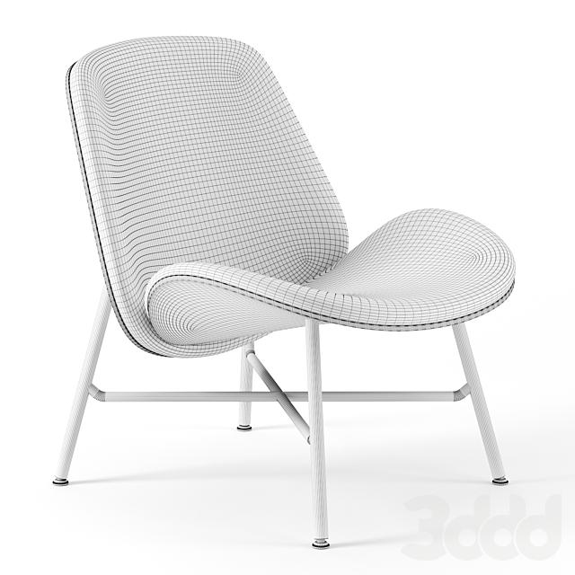Nihan lounge chair by Pode