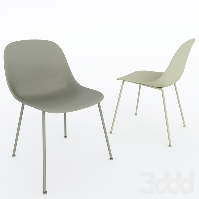 Muuto. Fiber Side Chair by Iskos - Berlin.