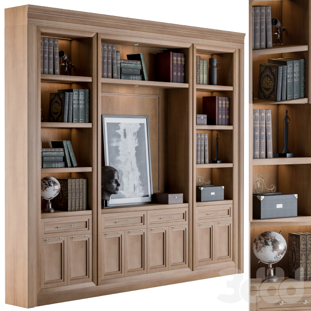 Wooden Library Formal