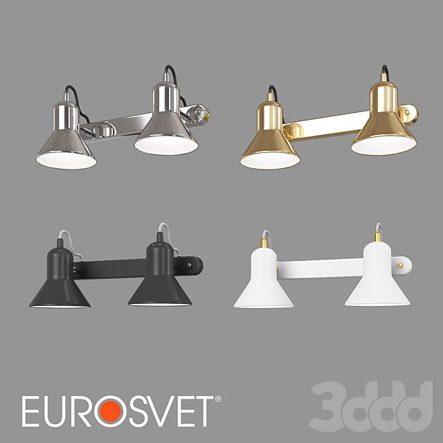 ОМ Настенный светильник Eurosvet 20082/2 и 20083/2 Canotier