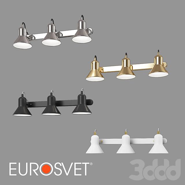 ОМ Настенный светильник Eurosvet 20082/3 и 20083/3 Canotier