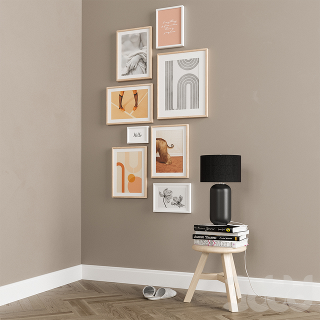 Interior Picture Frames Set-15