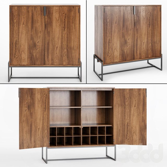 Article_Oscuro Walnut Cabinet