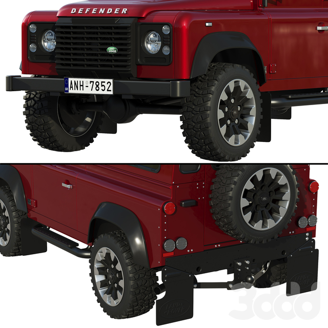 Land Rover Defender Works V8