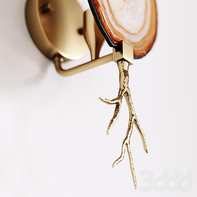 Emporium Home Branch Agate Sconce