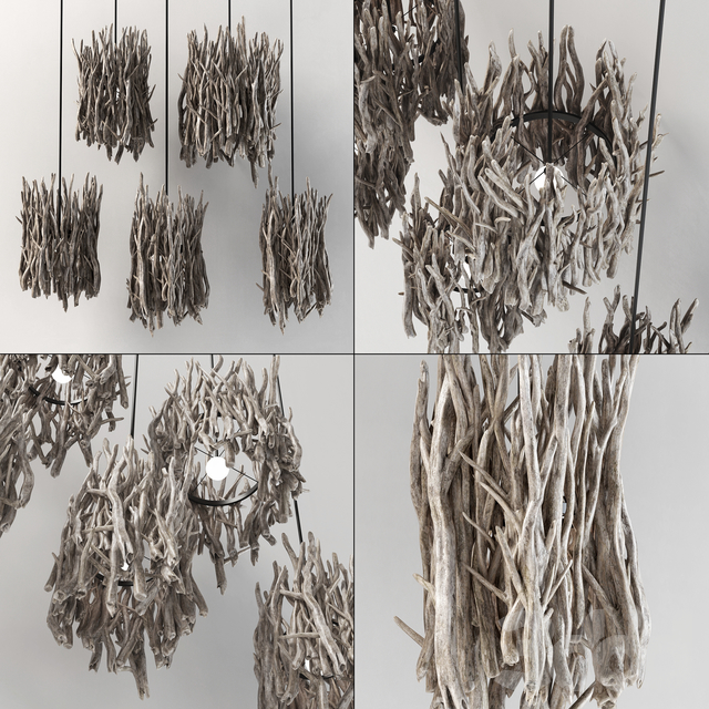 Branch decor lamp n3 / Светильники из веток
