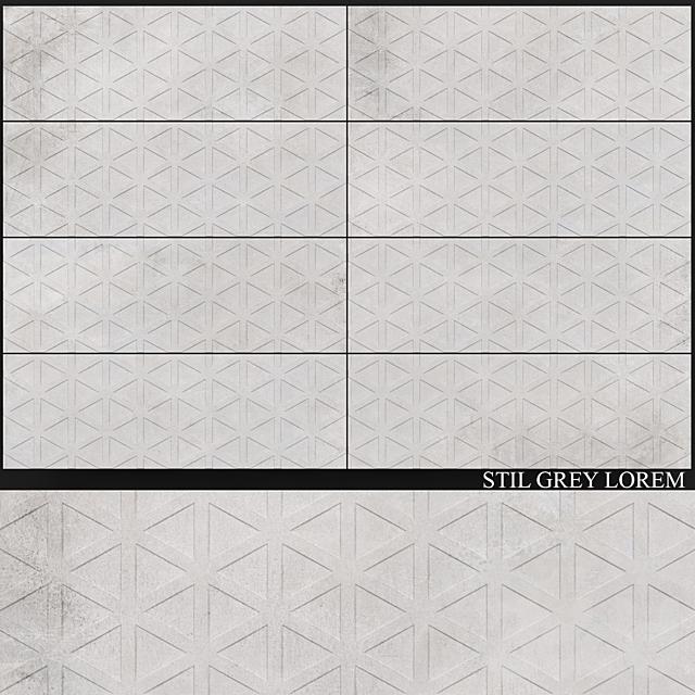 Yurtbay Seramik Stil Grey Lorem