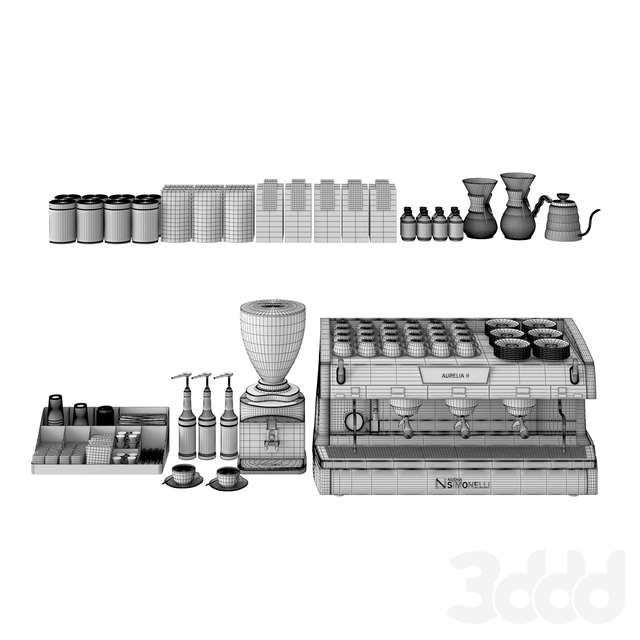 Coffee Shop Set