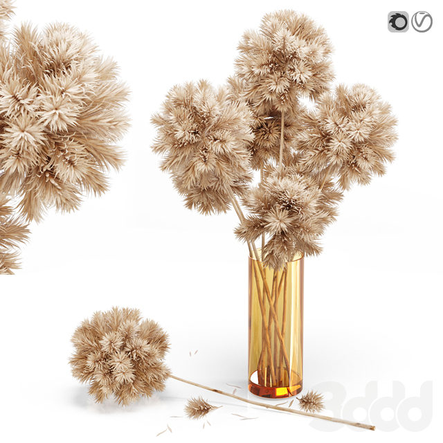 Decor set 10 Artificial onion grass flower