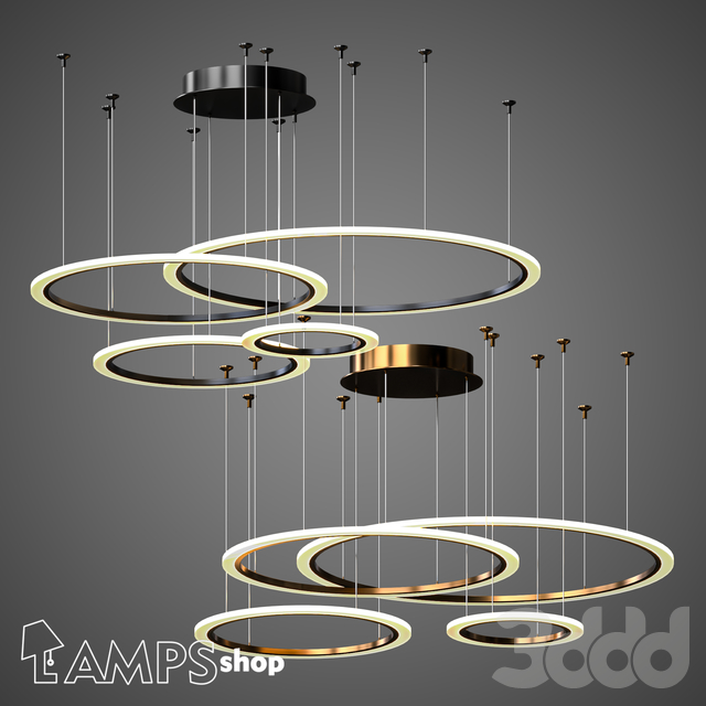 L1050 Chandelier Light Ring B