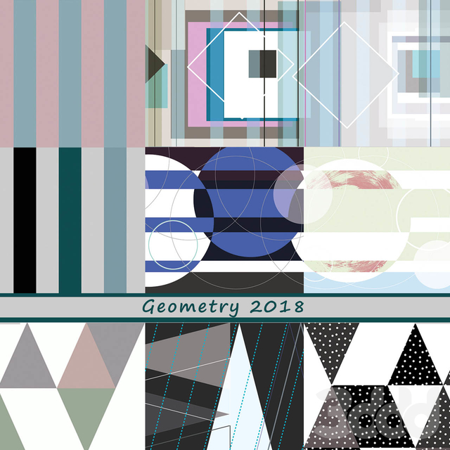 Дизайнерские обои Geometry-2018 pack2
