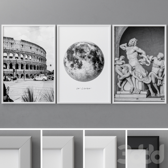 Photo Frames Set 37