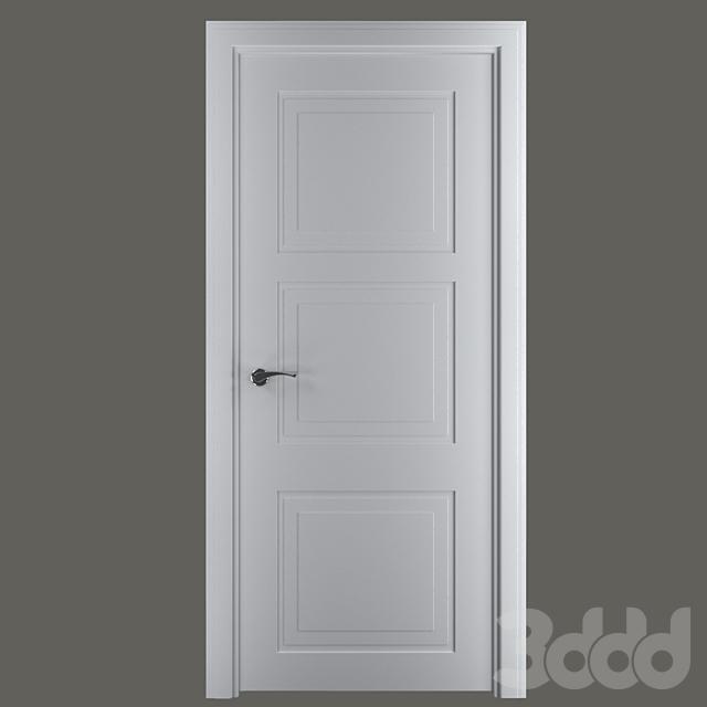 (OM) Дверь межкомнатная Трио С2