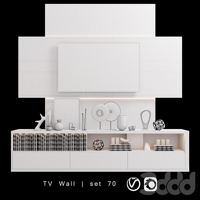 TV Wall   set 70