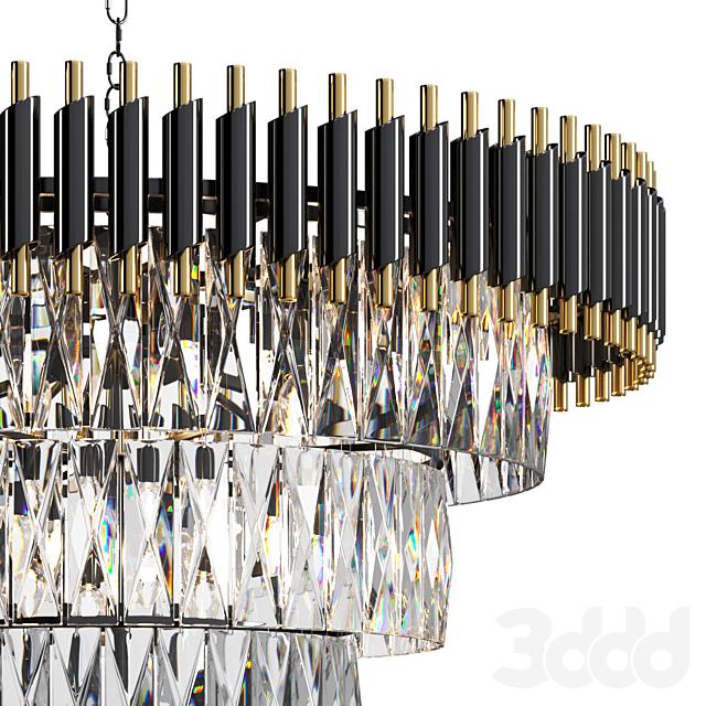 Chandelier Loft Concept Empire Black
