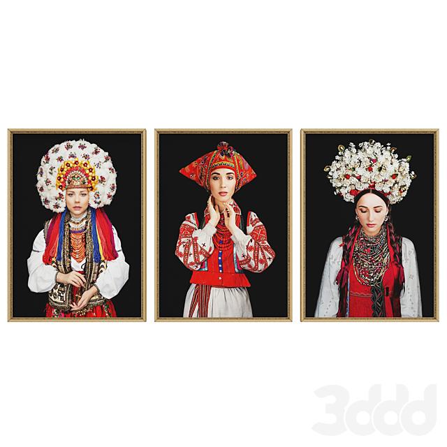 Украинские красавицы набор №3