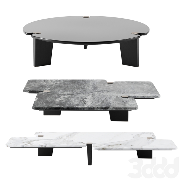 Jacob tables by Minotti