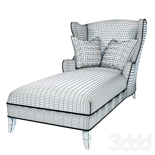 Сentury furniture hall chaise