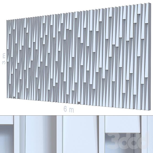 Декоративная стена 265.