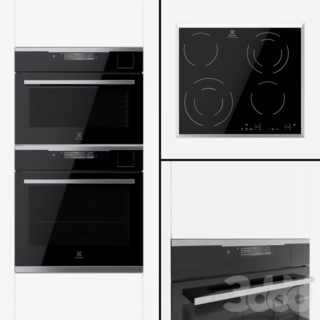Electrolux - Духовой шкаф OKA9S31WX , компактный Духовой Шкаф VKA9S21WX, варочная поверхность CEE6432KX.