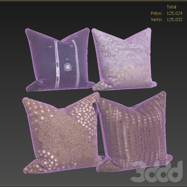 Decorative pillows set 537