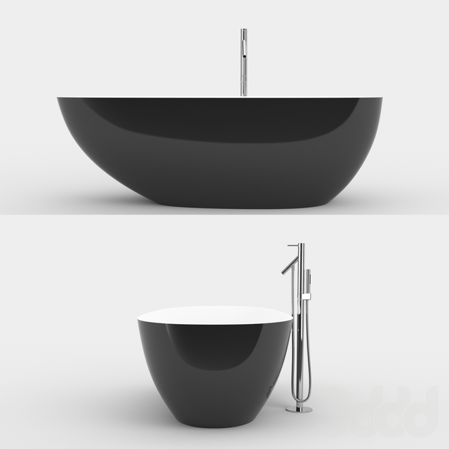 Vesuv Bathtube by Vallone