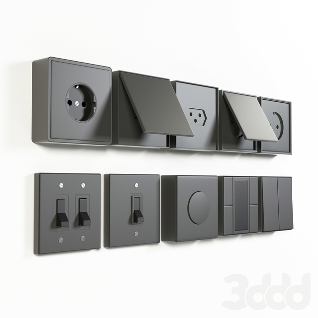 Jung LS 990 outlet & electric switches