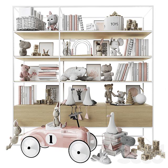 Стеллаж с игрушками и книгами_2